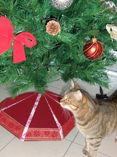 クリスマスツリースカート☆_f0214388_2243158.jpg