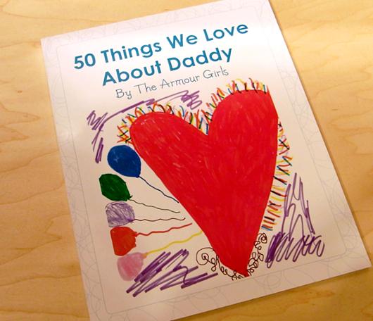 子どもの手作り絵本 50 Things We Love About Daddy_b0007805_927153.jpg