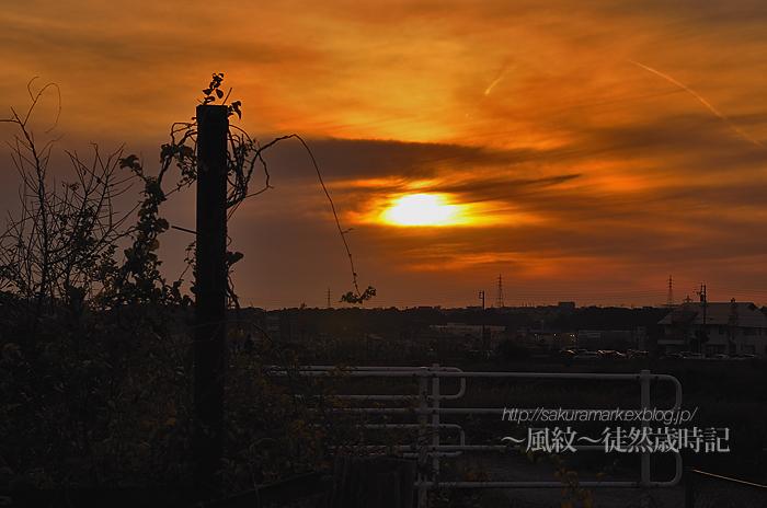 晩秋の夕空。_f0235723_18224324.jpg