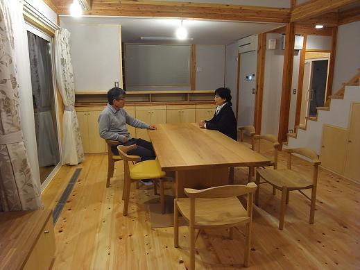 袴塚の家 見学会準備OK 2010/11/19_a0039934_18535246.jpg