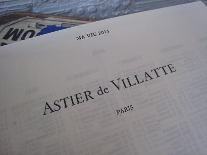 Astier de Villatte 2011ダイアリー入荷しました!_f0155962_1657877.jpg
