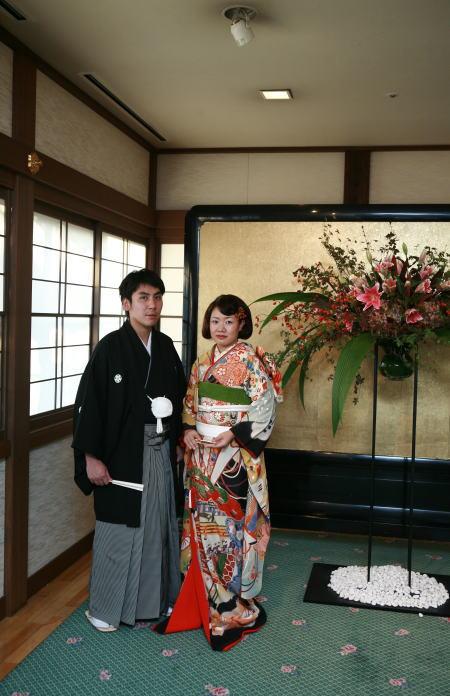 優雅でクラシカル・・和装の結婚式_b0098077_1533149.jpg