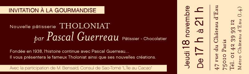【新規OPEN】 La patisserie THOLONIAT PAR PASCAL GUERREAU_a0014299_2238841.jpg