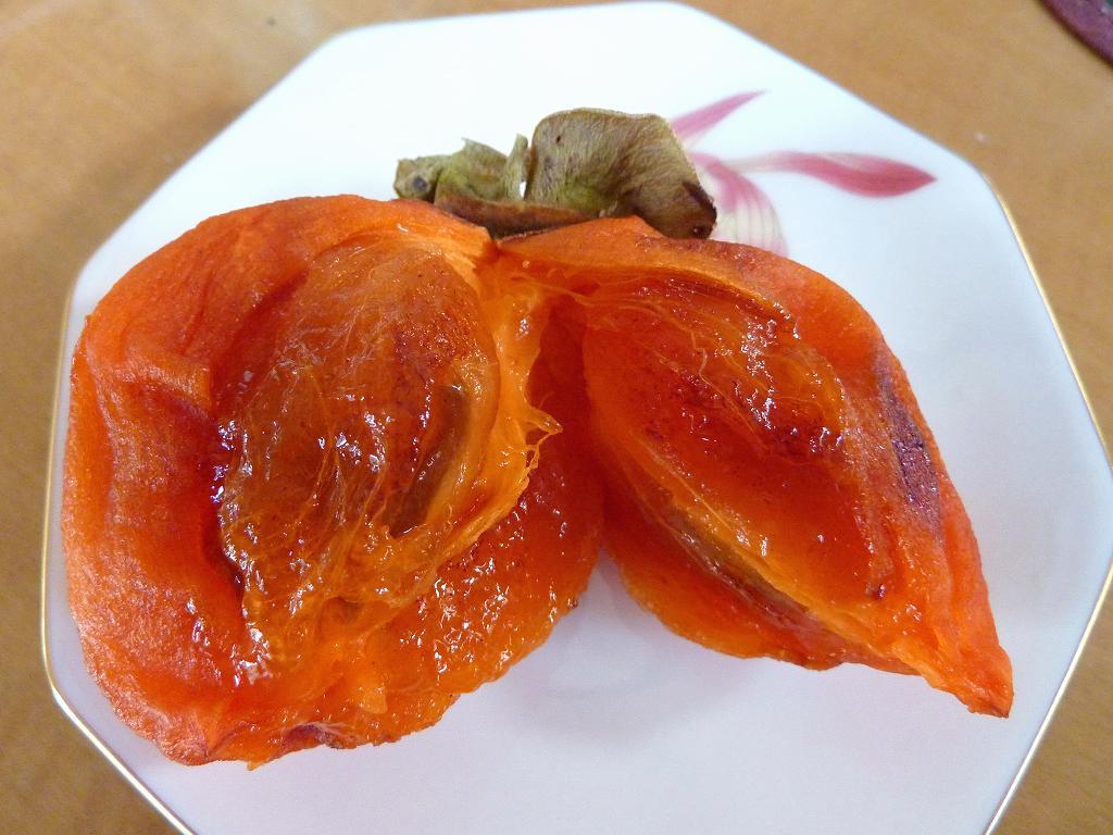 干し柿を試食_a0148206_14461044.jpg