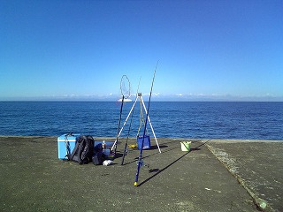 釣り日和(新々突堤)_f0032130_13195270.jpg