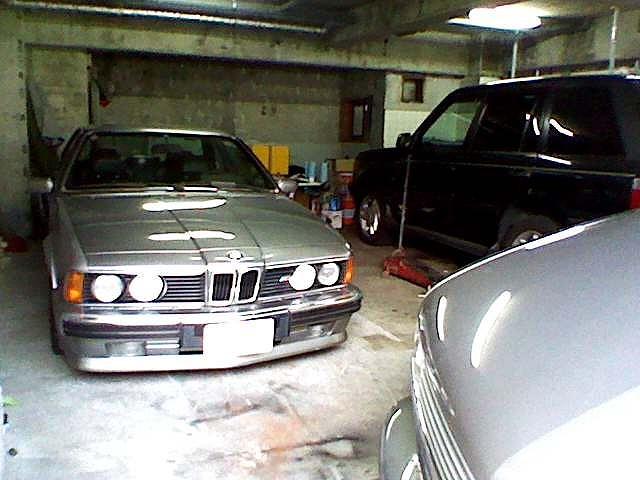 E24 BMW635csi レベライザーカットその後_d0171835_235411.jpg