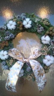 クリスマスリース☆と、屠蘇散_c0202046_11103266.jpg