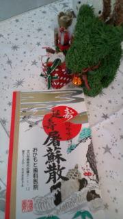 クリスマスリース☆と、屠蘇散_c0202046_1120161.jpg