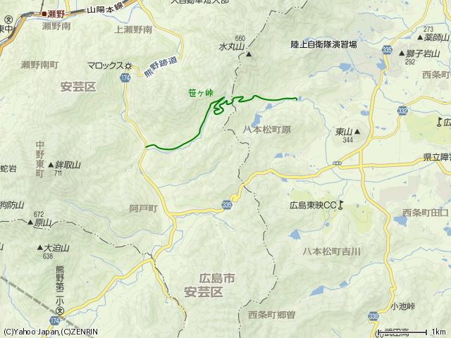 笹ヶ峠(阿戸~八本松町原)を歩く その1_b0095061_1203635.jpg