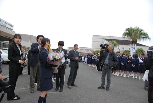 串間 ロッテ西村監督_a0043276_3193264.jpg