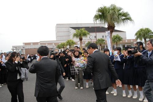 串間 ロッテ西村監督_a0043276_330551.jpg