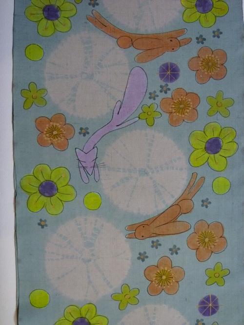 兎(うさぎ)柄の帯  美しいキモノ 冬号_d0159384_23201018.jpg
