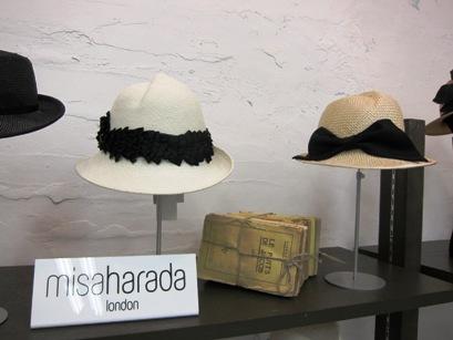 misa harada帽子の春夏コレクション_b0122805_1832339.jpg