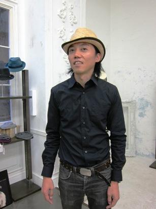 misa harada帽子の春夏コレクション_b0122805_18325657.jpg
