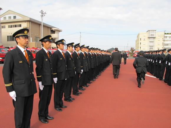 三芳町消防団特別点検_d0130714_21404164.jpg