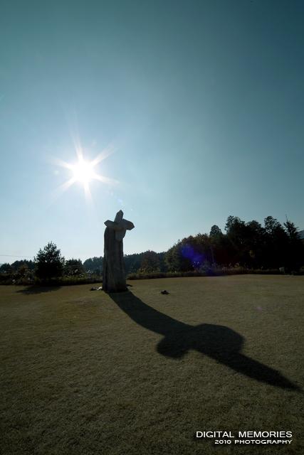 常山公園 「石のかざぐるま」 高梁市_c0083985_953877.jpg