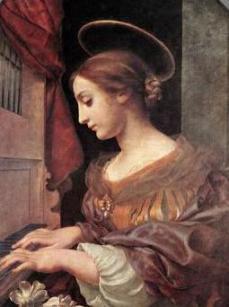 聖セシリア(Saint Cecilia)の祝日_c0203401_12245067.jpg