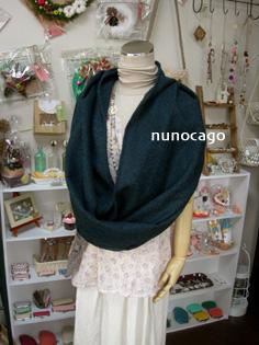 nunocago新作 … スヌード(ループマフラー)その2_e0125731_1151633.jpg