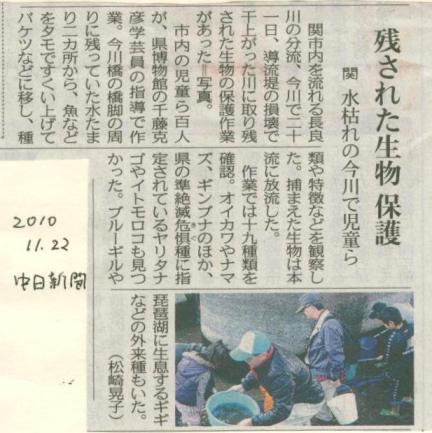 続・ 今川 2010.11.21「小さな命」救出作戦_f0197754_2322789.jpg