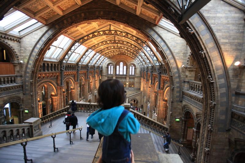 ロンドン自然史博物館_c0187779_0254469.jpg
