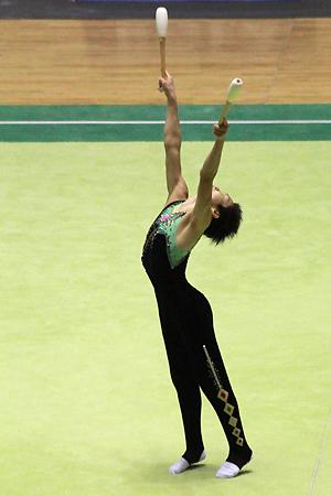 青森大学 全日本新体操選手権2010年_d0080906_19312640.jpg