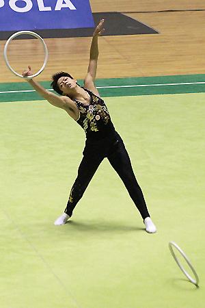 青森大学 全日本新体操選手権2010年_d0080906_1931320.jpg