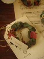 card+mini wreath。_c0218411_23392777.jpg