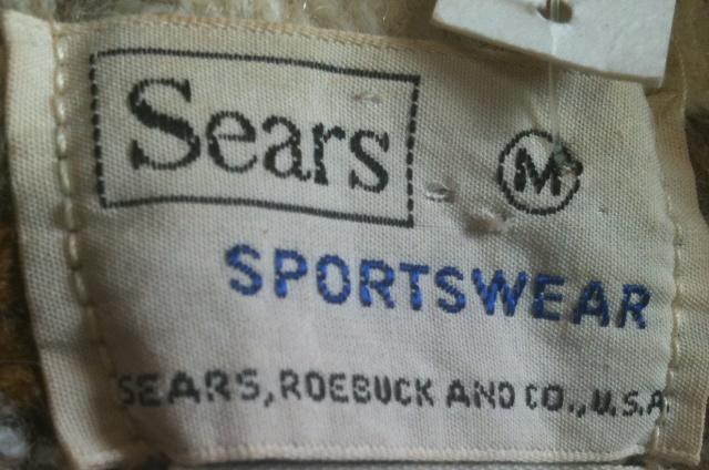 70\'S SEARS モヘア セーター_c0144020_1074126.jpg