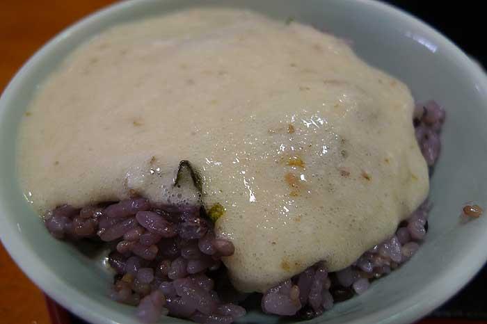 自然薯とろろ定食 @ 道の駅 みなみ波賀_e0024756_16232347.jpg