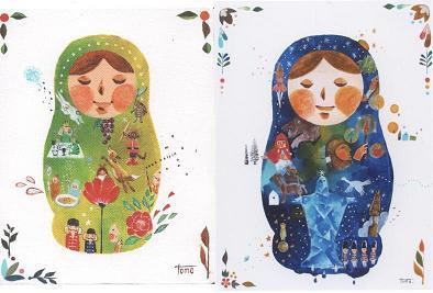 マトリョーシカと絵本展_f0139963_7592064.jpg