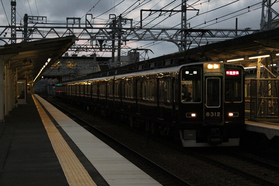 阪急 直通特急・快速特急梅田行き_d0202264_19314042.jpg