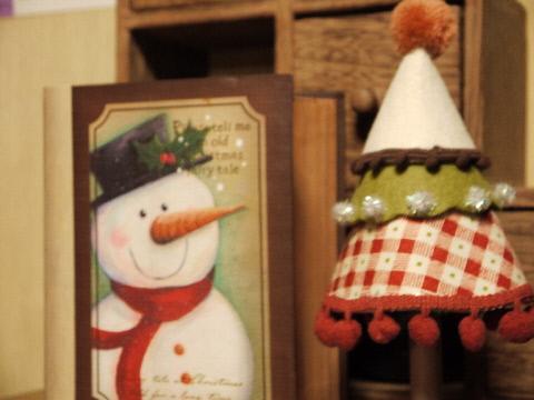 フェルトのクリスマスツリー♪_e0086864_035555.jpg