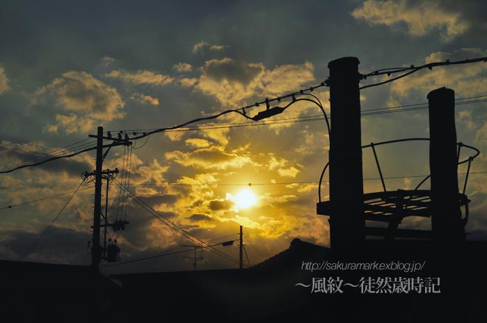 晩秋夕日。_f0235723_2011037.jpg