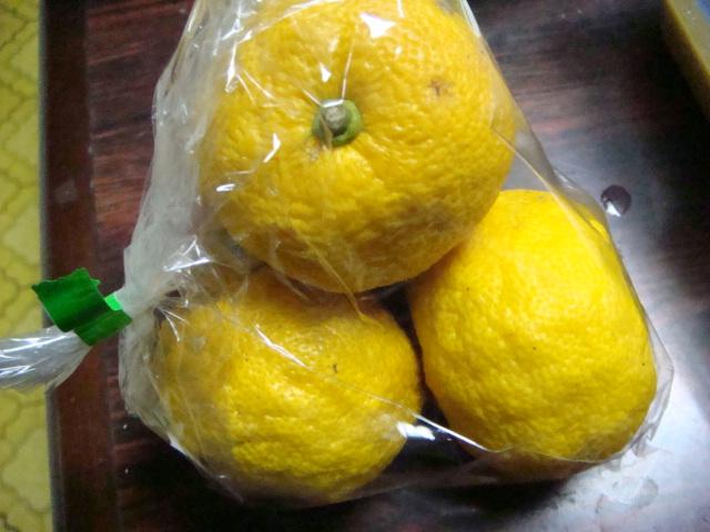 柚子のマーマレード_b0097645_0504379.jpg