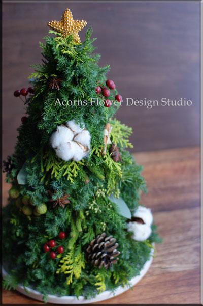 クリスマスツリーとリース_f0215262_17251498.jpg