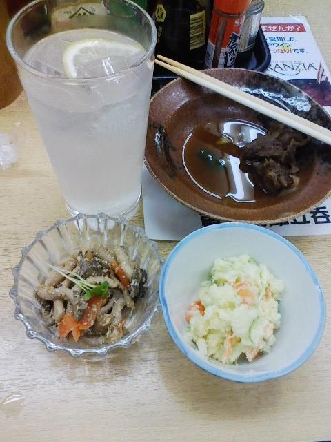 ◎見事な肴の出る「東田」昼酒でここの前は何十回通ったが。_c0061686_62327.jpg