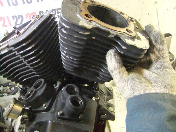 エボ エンジンをバラそう!! 腰上編_c0226202_23305378.jpg