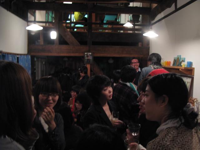 スガノサカエの図画展レセプションパーティー!_b0207642_1543713.jpg