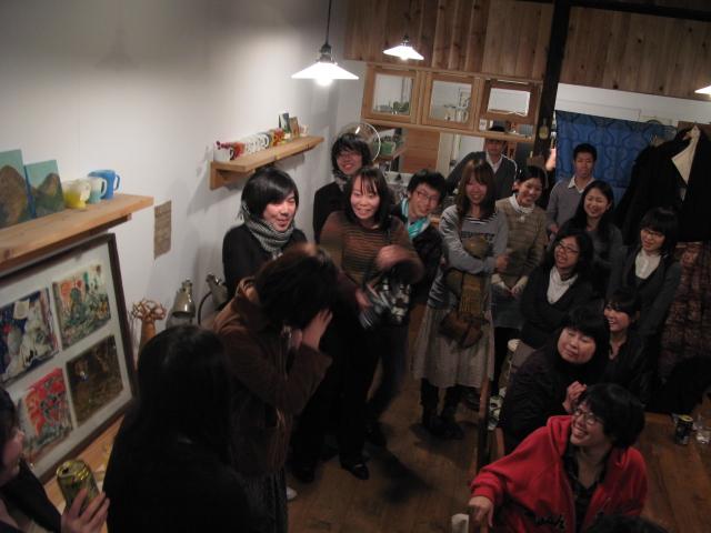スガノサカエの図画展レセプションパーティー!_b0207642_21264.jpg