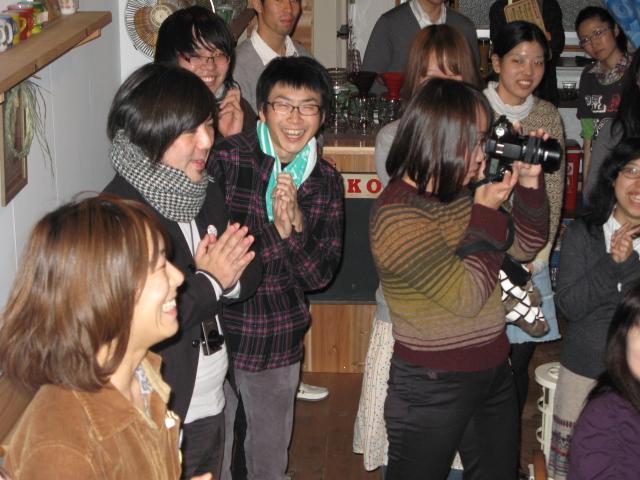 スガノサカエの図画展レセプションパーティー!_b0207642_222446.jpg