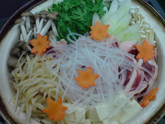 鍋の季節。_d0182179_1948592.jpg