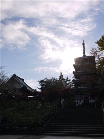 2010紅葉第一弾!!長谷山本土寺です、綺麗でした(*^^)v_b0175688_19261217.jpg