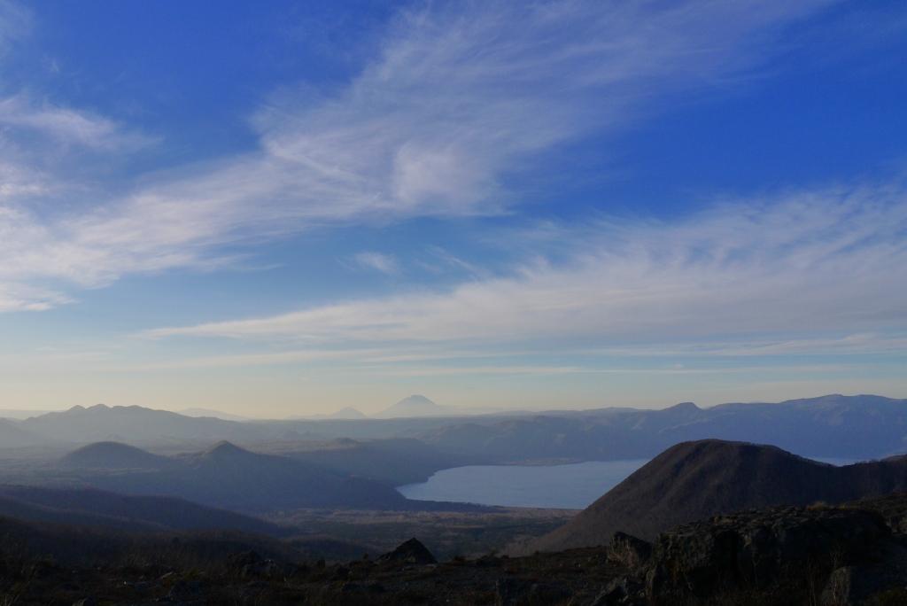 11月24日、樽前山の夕陽-その1-_f0138096_138621.jpg