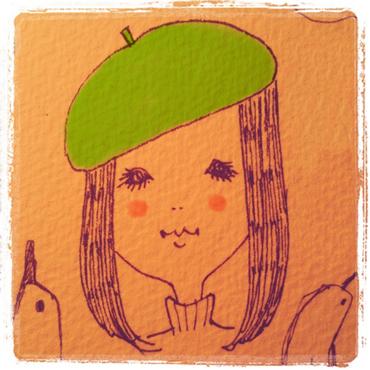 ベレー帽の被り方講座_e0177207_1102239.jpg