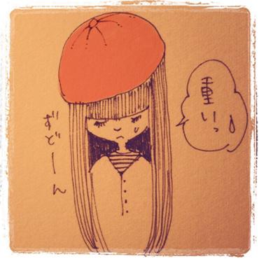 ベレー帽の被り方講座_e0177207_116475.jpg