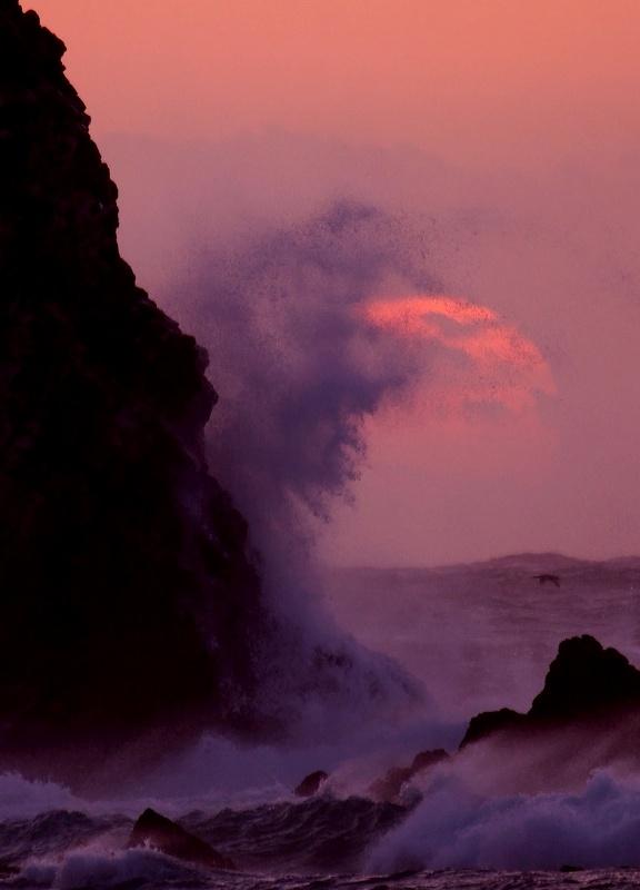大波と夕陽_d0074828_2126212.jpg