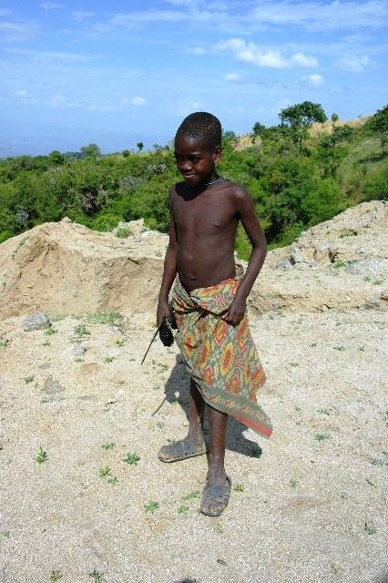 エチオピア(31) ジンカ到着_c0011649_0393191.jpg