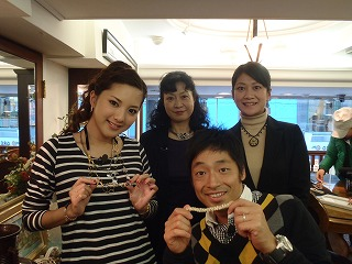 はまじゅん&団長が教室に!! 2010/11/26_b0101975_18242787.jpg