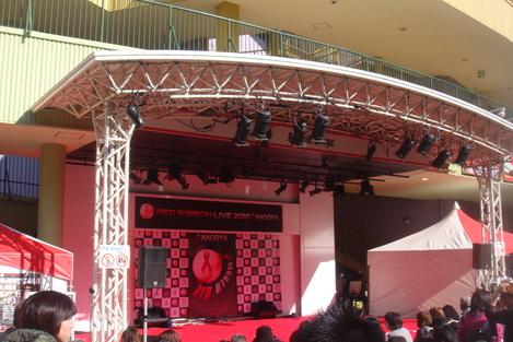 RED RIBBON LIVE 2010 in Nagoya to Tokyo!_e0142585_1291043.jpg