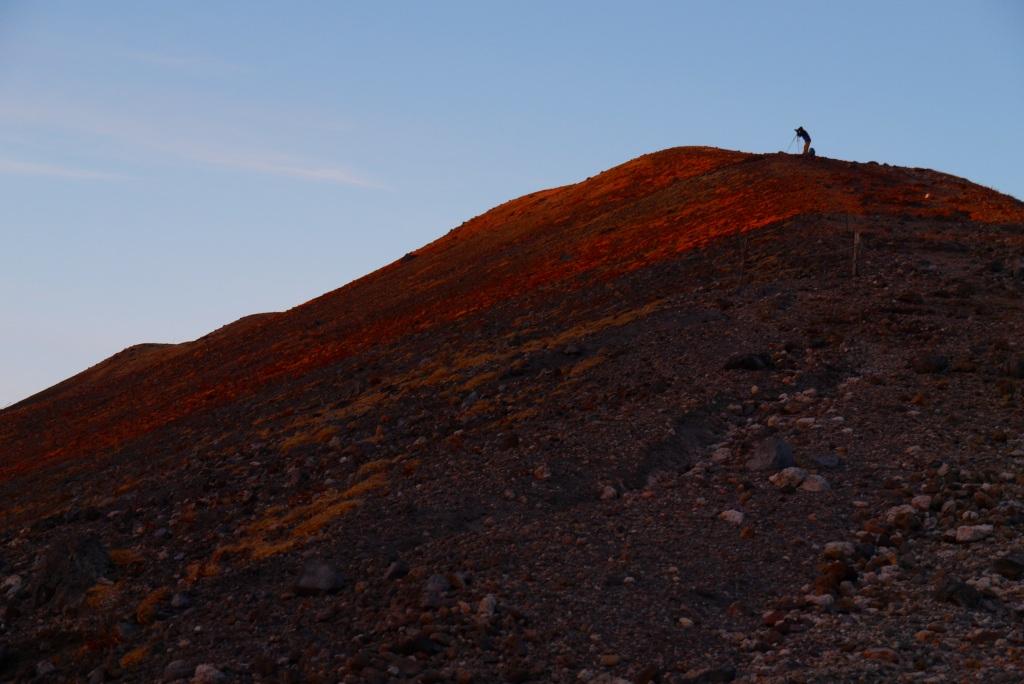 11月24日、樽前山の夕陽-その2-_f0138096_11343243.jpg